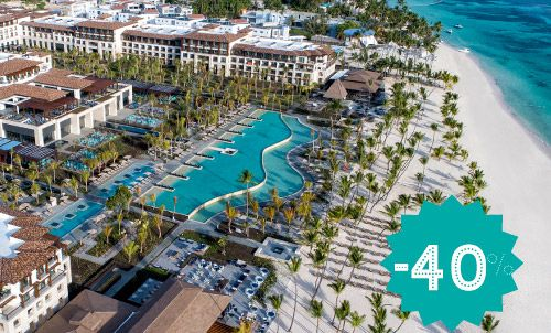 Book until October 31 and enjoy this incredible offer. Discover the new Lopesan Costa Bávaro Resort, Spa & Casino, our wonderful 5 star hotel in the Caribbean. Happy Holidays!  *Minimum stay: 3 nights  Offer valid only for reservations through our website. Not combinable with other Lopesan offers or promotions.