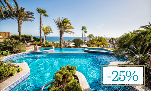Stay on the beachfront of Playa del Inglés  and  enjoy your Winter holidays with Corallium!!  Subject to availability, not combinable with other promotions. Not valid for Christmas and New Year's Gala. Minimum stay 3.