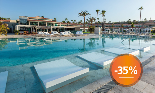 Book until September 30th 2020 and experience a different holidays at Kumara Serenoa by Lopesan Hotels, our new hotel in Maspalomas.  Only for reservations through Lopesan.com or call center. Not combinable with other promotions and subject to availability.