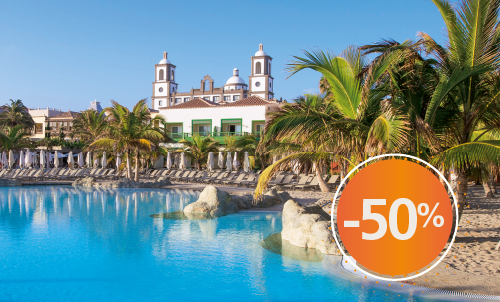 Super Deal! Book until January 31, 2021 and enjoy these special winter prices at the fabulous Lopesan Villa del Conde Resort & Thalasso, the only hotel of its kind in Gran Canaria, not only in terms of services but also because of its unique design.   Offer valid only for reservations through our website. Not combinable with other offers or promotions. Discount of the non-refundable rate. This offer does not apply to Unique Rooms or Suites.