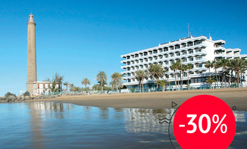 The best plan to return to Maspalomas at Christmas...   Enjoy the best location in the south of Gran Canaria!  Offer valid only for reservations through our website. Not combinable with other offers or promotions.