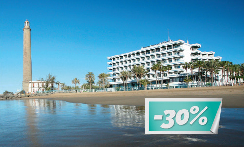 This fall,  stay at IFA Faro with this special price and  enjoy the best location in the south of Gran Canaria with direct acces to the beach!   Offer valid only for reservations through our website. Not combinable with other offers or promotions. minimum stay 3 nights.