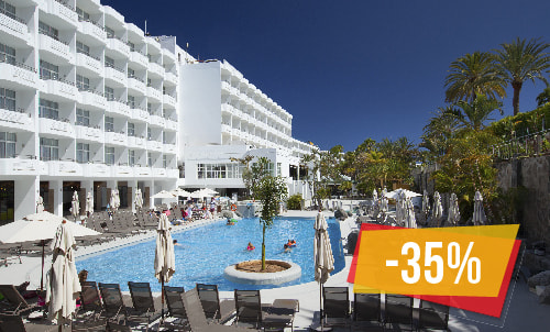 Superpreise! Es ist die perfekte Lösung für alle, die auf Gran Canaria ein all inclusive hotel suchen und sich nur um ihre Entspannung und sonst nichts kümmern möchten.  Abhängig von der Verfügbarkeit, nur gültig für Reservierungen über unsere Website oder unser Call-Center. Mindestaufenthalt 3  Nächte
