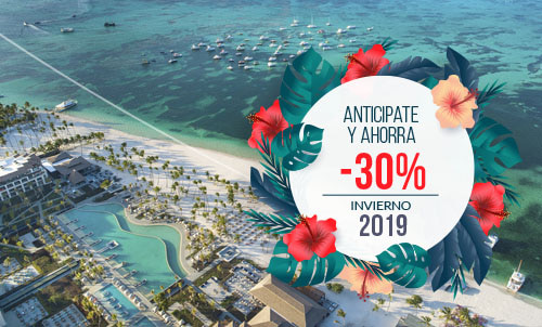 Plan your next vacation in Punta Cana and enjoy 30% Off - Early Booking discount for stays in winter 2019/2020, relax enjoy our new Lopesan Costa Bávaro Resort, Spa & Casino.  Discount valid for reservations on our website and Call Center. Minimum stay of 5 nights