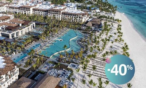 Reserva hasta el 26 de julio y disfruta de esta increíble oferta  en el nuevo Lopesan Costa Bávaro Resort, Spa & Casino, nuestro maravilloso 5 estrellas en el Caribe.   Oferta válida únicamente para reservas a través de nuestra web. No combinable con otras ofertas o promociones de Lopesan.