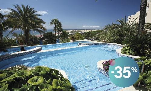 Buchen Sie bis zum 26. Juli und profitieren Sie von dieser Ermäßigung, wenn Sie in diesem Hotel nur für Erwachsene in Playa del Inglés direkt am Strand übernachten. Wir warten auf Sie!