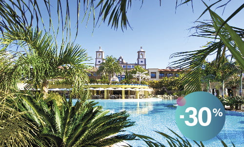 Book until 31 August and enjoy our charming 5 star hotel Lopesan Villa del Conde. Enjoy the summer and take advantage of this exclusive offer for stays in Summer!  Subject to availability, not combinable with other promotions.