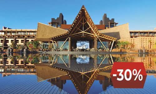 Book until November 30 and enjoy this special price for your winter holiday at the wonderful Lopesan Baobab Resort, (except for stays in December 2019). Limited rooms are waiting for you!  Offer valid only for reservations at Lopesan.com and Call Center, subject to availability. Not combinable with other offers or discounts.