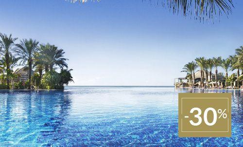 Buchen Sie bis zum 11. Februar 2020 und genießen Sie diesen besonderen Winterpreis im wunderschönen Lopesan Costa Meloneras.  Nur für Reservierungen über Lopesan.com oder Call Center. Nicht mit weiteren Angeboten kombinierbar, je nach Verfügbarkeit. Angebot gilt nicht für Unique-Zimmer oder Suiten.