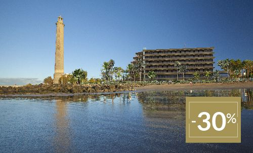 Book until 11 Feb 2020 and enjoy this special winter sale on your next stay in Hotel Faro, a Lopesan Collection Hotel and enjoy the best location in the south of Gran Canaria!   Only for reservations through Lopesan.com or call center. Not combinable with other promotions and subject to availability.