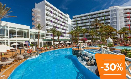 Book until 30 June 2020 and enjoy holidays in your favourite hotel in the centre of Playa del Inglés, an area where fun and nightlife will delight you.  Only for bookings through Lopesan.com or call center. Not combinable with other promotions and subject to availability.