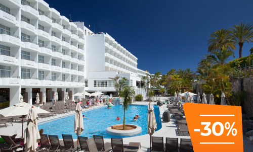 Book until 30 April 2020 and enjoy summer holidays in Abora Catarina, the perfect choice for those seeking an all-inclusive hotel in Gran Canaria.  Only for reservations through Lopesan.com or call center. Not combinable with other promotions and subject to availability.