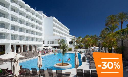 Buchen Sie bis zum 30. April und erleben Sie den Sommer im Abora Catarina, Ihr Lieblingshotel in Playa del Inglés. Genießen Sie einen All-Inclusive-Urlaub!   Abhängig von der Verfügbarkeit, nur gültig für Reservierungen über unsere Website oder unser Call-Center.