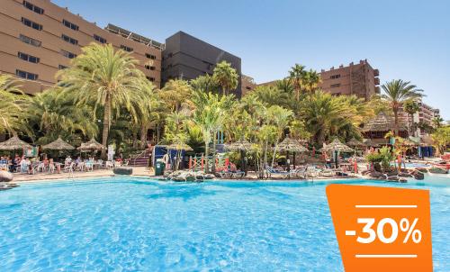 Buchen Sie bis zum 30. April und genießen Sie Ihren Sommerurlaub im Abora Continental, Ihr Lieblingshotel inmitten des Strandes Playa del Ingles, nur wenige Meter vom Meer entfernt.  Abhängig von der Verfügbarkeit, nur gültig für Reservierungen über unsere Website oder unser Call-Center.