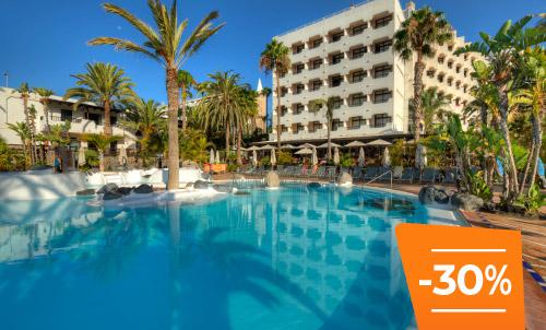 Buchen Sie bis zum 30. April und genießen Sie den Sommer auf Gran Canaria. Nutzen Sie die Gelegenheit, um in Ihrem Lieblings-Corallium zu diesem Sonderpreis zu übernachten.   Das Angebot gilt nur für Reservierungen bei Lopesan.com und Call Center, je nach Verfügbarkeit.