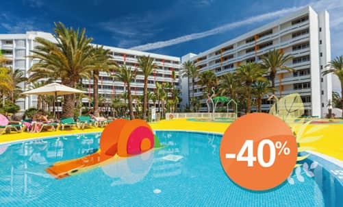 Book until 31 August 2020 and enjoy holidays in your favourite hotel in the centre of Playa del Inglés, an area where fun and nightlife will delight you.  Only for bookings through Lopesan.com or call center. Not combinable with other promotions and subject to availability.