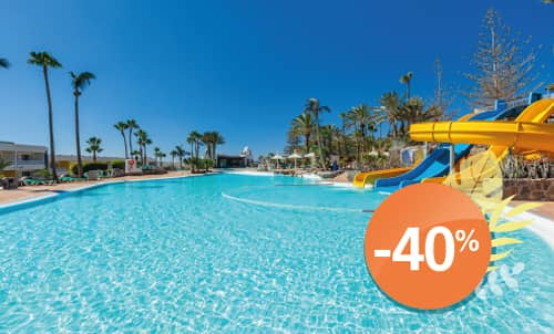 Book until 31 August 2020 and enjoy holidays in Abora Interclub Atlantic, the perfect all-inclusive hotel in San Agustín.  Only for reservations through Lopesan.com or call center. Not combinable with other promotions and subject to availability.
