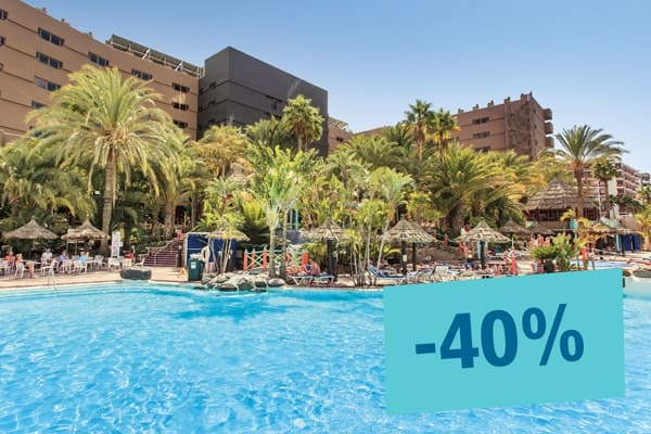 Book until September 30 and enjoy our Summer Sale. Take this opportunity to stay in your favorite Lopesan at this special price Limited rooms!  Offer valid only for reservations at Lopesan.com and Call Center, subject to availability