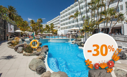 Book until March 21, 2021 and enjoy spring holidays in Abora Catarina, the perfect choice for those seeking an all-inclusive hotel in Maspalomas.  What are you waiting for? Get extra 10% off, if you pay your booking now.  Only for bookings through our official websites or call center. Not combinable with other promotions and subject to availability. This offer may not apply to Suites. Price per person per night in double occupancy.