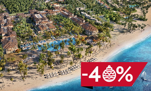 Book the perfect gift now and benefit from the incredible discounts on bookings made until 7 Jan 2019. This year, treat yourself and your loved ones with the unforgettable present to enjoy your favorite Lopesan resort in Punta Cana. Subject to availability, only for reservations through our official website and call center.