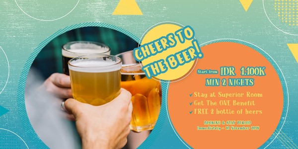 CHEERS TO THE BEERS  The ONE Legian Hotel Badung (badung)