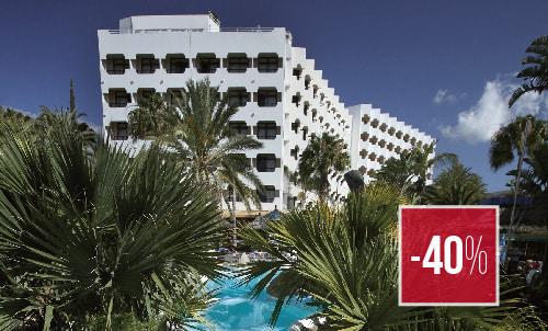 Reserva hasta el 28  de febrero y disfruta de este precio especial en primera línea en el Corallium Beach by Lopesan Hotels, San Agustín. No válida para habitaciones Unique, sujeto a disponibilidad.