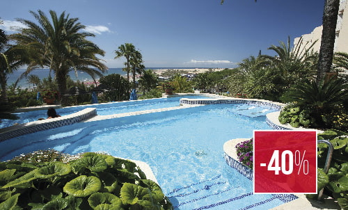 Reserva hasta el 28  de febrero y disfruta de este precio especial   en el Corallium Dunamar by Lopesan Hotels. No válida para habitaciones Unique, sujeto a disponibilidad.