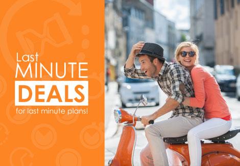 Last Minute Deals  Atria Hotels