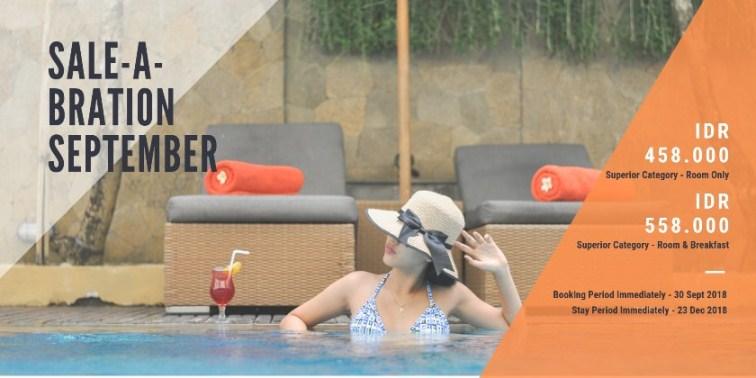 SALE-A-BRATION SEPTEMBER The ONE Legian Hotel Badung (badung)