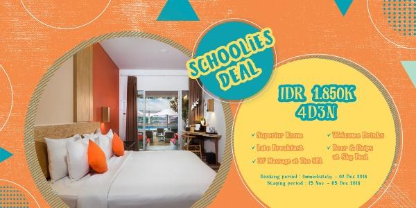 SCHOOLIES PACKAGE The ONE Legian Hotel Badung (badung)