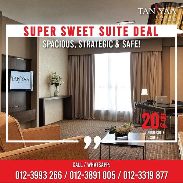 Super sweet suite deals   tan'yaa cyberjaya