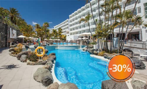 Book until November 30th, 2020 and enjoy sunny holidays in Abora Catarina, the perfect choice for those seeking an all-inclusive hotel in Gran Canaria. Get an extra 10% discount, if you pay your booking now. Stays until April 2021 (except for Christmas and Easter).  Only for bookings through Lopesan.com or call center. Not combinable with other promotions and subject to availability.