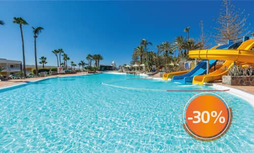 Book until November 30th, 2020 and enjoy sunny holidays in Abora Interclub Atlantic, the perfect all-inclusive hotel in San Agustín. Valid for stays until April 2021, except for Christmas and Easter. Get extra 10% off, if you pay your booking now!  Only for reservations through Lopesan.com or call center. Not combinable with other promotions and subject to availability.