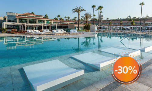 Book until November 30th, 2020 and enjoy sunny holidays at Kumara Serenoa by Lopesan Hotels, our new hotel in Maspalomas. Valid for stays until April 2021, except for Christmas and Easter.  Only for reservations through Lopesan.com or call center. Not combinable with other promotions and subject to availability.