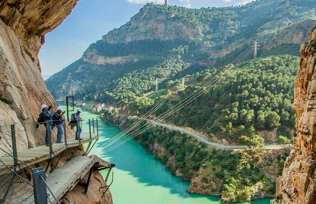 Caminito del Rey por el Puente de Andalucía