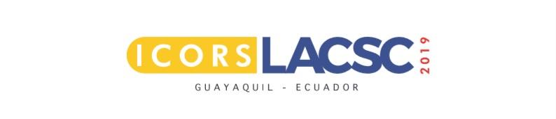 ICORS-LASCSC 2019 Congress     Radisson Hotel Guayaquil