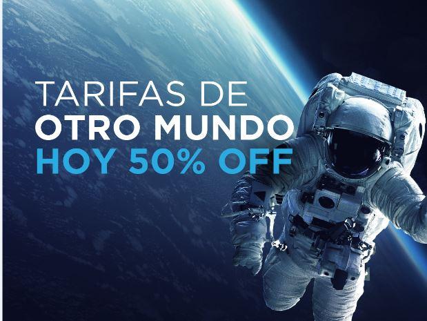 🔥 Jueves COSMICO 50% Off 🔥