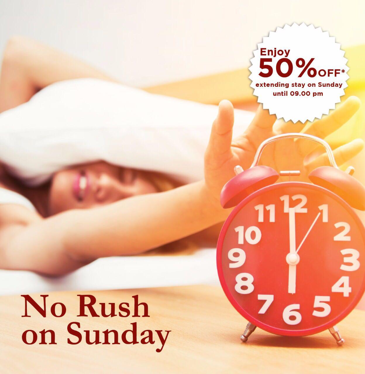 No Rush on Sunday Atria Hotels