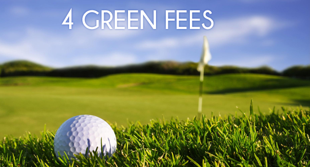5 Tage Golf Package + 4 Greenfees Hotel Castell de Mar