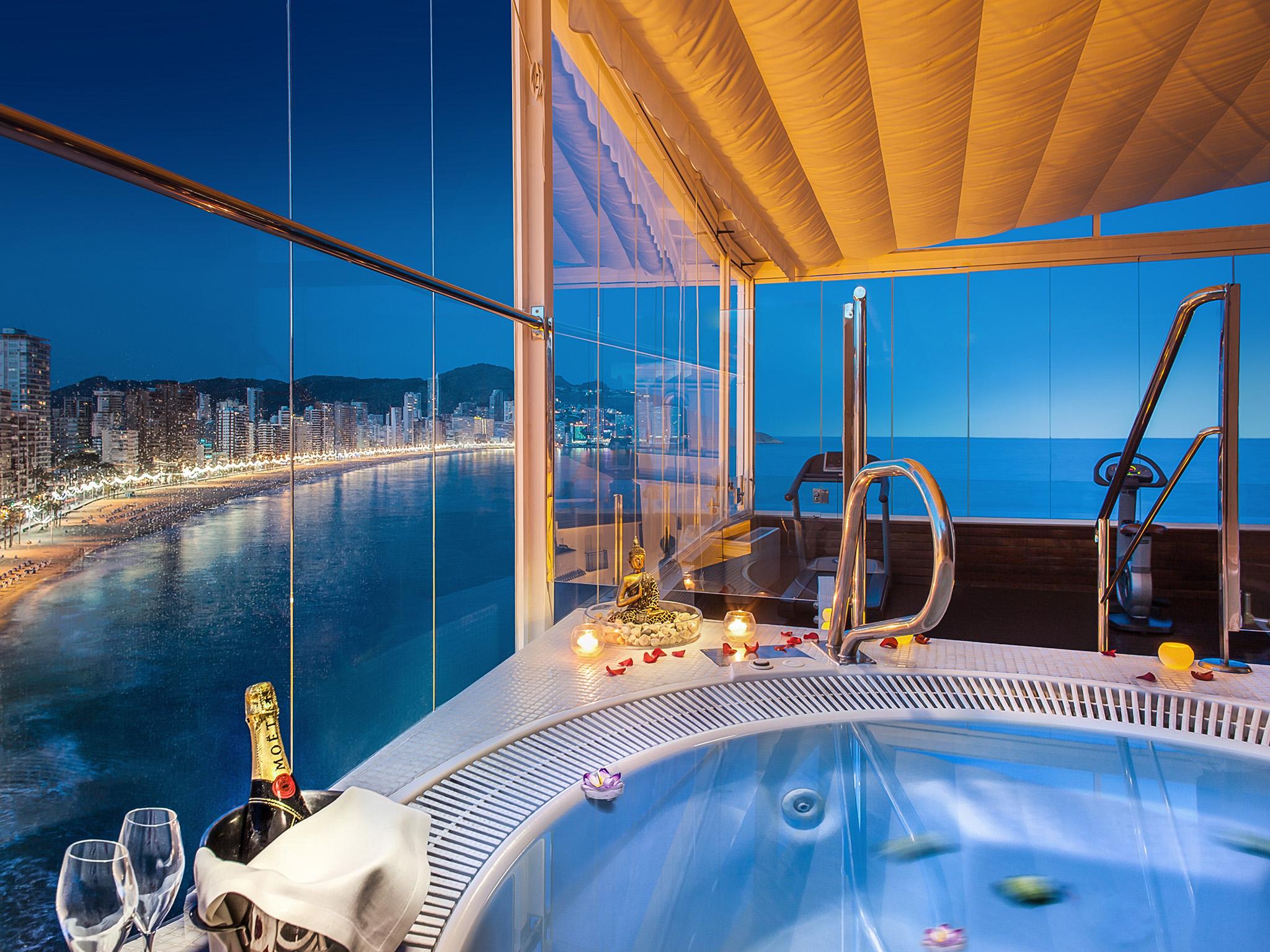 Spa Privado Nocturno Hotel Villa Venecia Boutique Gourmet