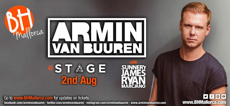 Armin Van Buuren Residente 2 Agosto 2018