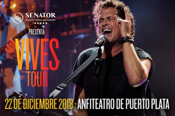 Concierto Carlos Vives + 2 noches de Hotel, 21 y 22 de Diciembre