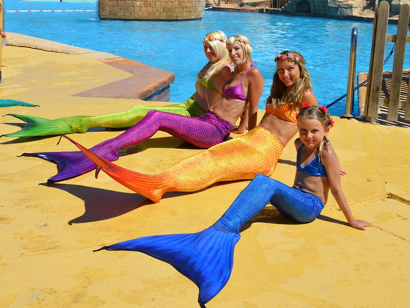MERMAID SCHOOL Magic Natura Animal, Waterpark & Polynesian Resort