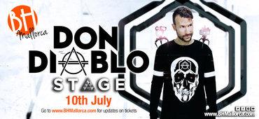 Don Diablo Residente 10 Julio 2018