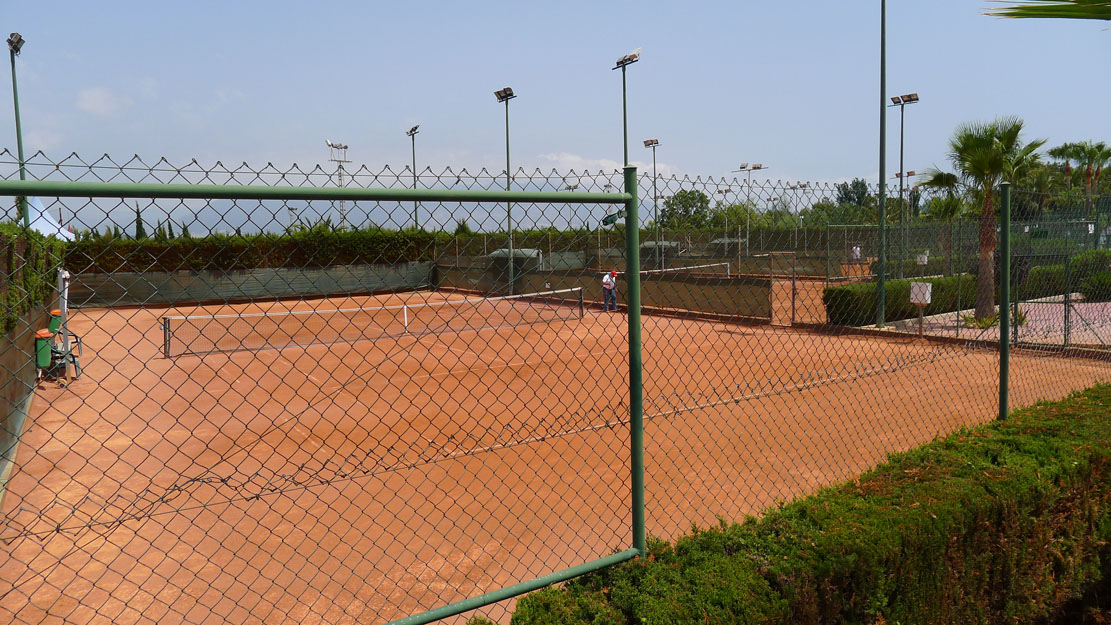 Pistas de Tenis y Padel Parc de Vacances Magic Aqua™ Excalibur